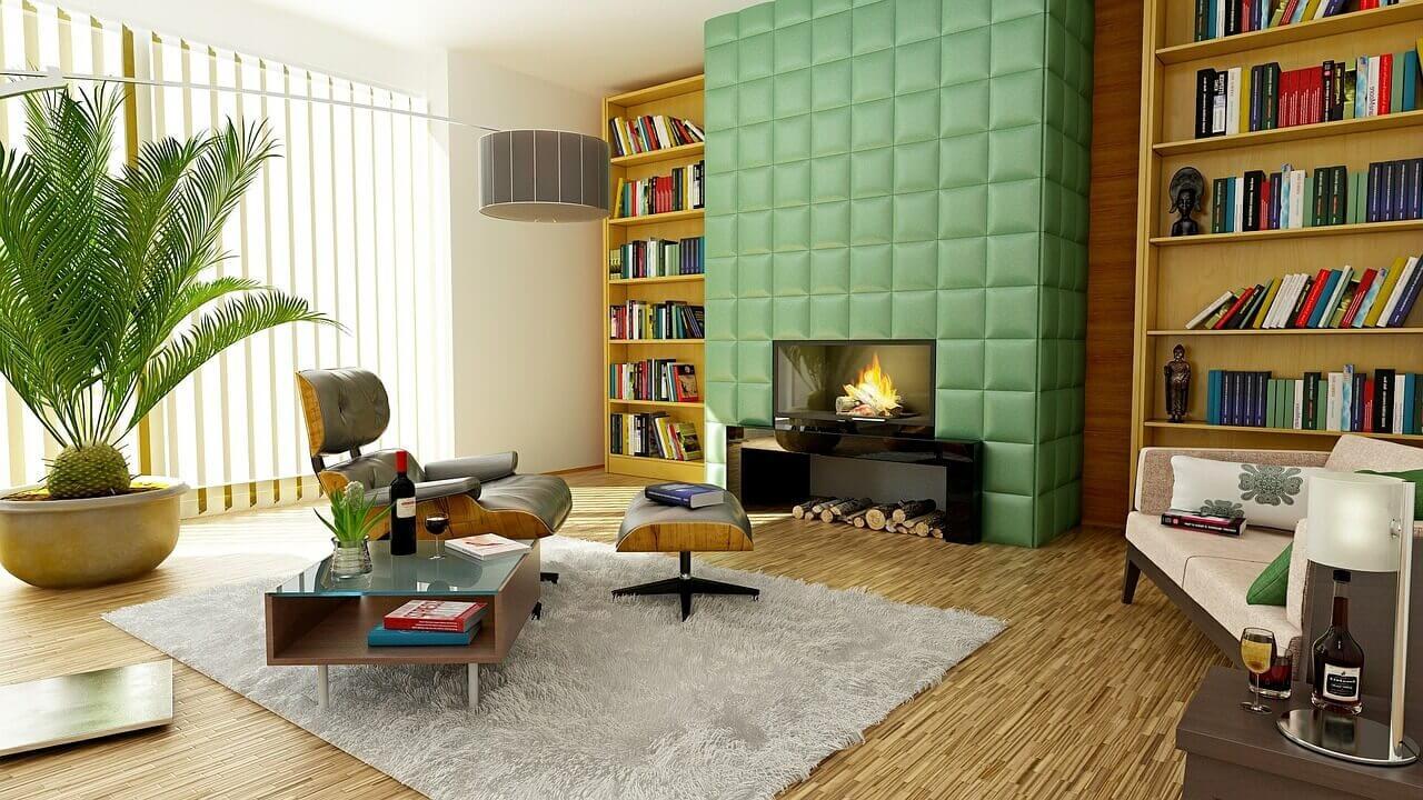 Pomysł na kominek w mieszkaniu